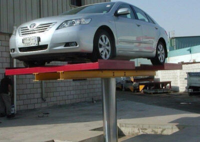 Tyre Rest Platform Lifts